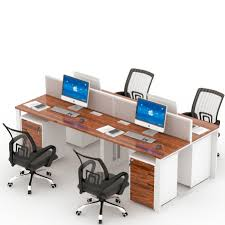 Office Furniture Computer Table Multi User Computer Desk Multi User Computer Desk Suppliers And