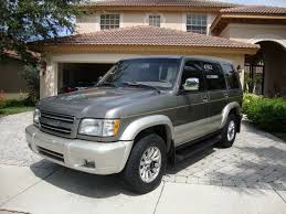 passing isuzu 1995 trooper 4 dr limited 4wd suv pic