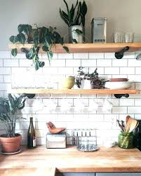 open cabinets kitchen ideas floating shelves in kitchen ideas breathtaking kitchen shelves ideas