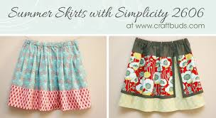 summer skirts summer skirts with simplicity 2606 craft buds