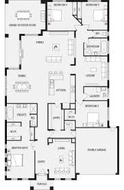 new home house plans awesome inspiration ideas open plan living floor plans australia 6