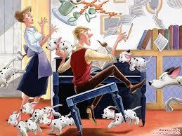 anita roger pongo u0026 puppies 101 dalmatians 1961 animal