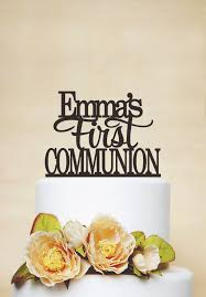 communion cake toppers communion cake topper baptism cake topper with name