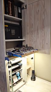 wooden cupboard with cell phone u0026 tablet charging station maint it