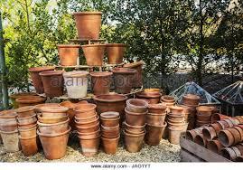 large clay pot in garden stock photos u0026 large clay pot in garden