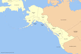 Map Of Pacific Pacific Northwest Lessons Tes Teach