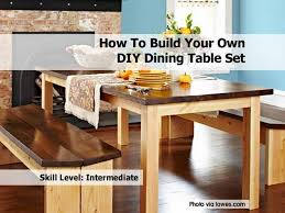 dining room diy dining table set lowes1 how to build a dining