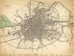 Map Of Dublin Ireland 1916 Dublin Map Map Of Dublin In 1916 Ireland