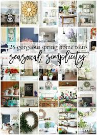 simplicity home decor spring home tour seasonal simplicity sincerely sara d
