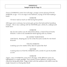 Writing Sample Resume by 11 Script Writing Templates U2013 Free Sample Example Format