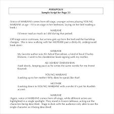 11 script writing templates u2013 free sample example format