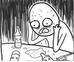 Depressed Drinking Meme - april 2014 the pittiful news