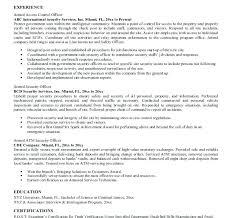 security guard responsibilities resume security guard resume