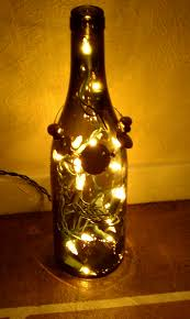 collection christmas lights in wine bottle pictures home design a