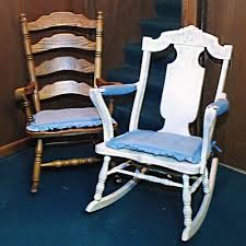 Oak Rocking Chairs Vintage Arts And Crafts Oak Rocking Chair Ebth
