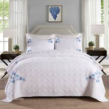 Quilted Bedspread King Online Get Cheap White Quilted Bedspread Aliexpress Com Alibaba