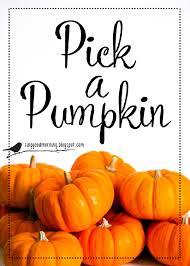 sing good morning pick a pumpkin