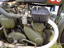bsa m20 motorcycle walkaround photographies english