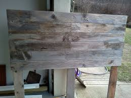 diy barnwood headboard barn board headboard barn and board