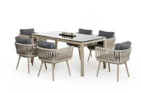 Modern Patio Dining Sets Modern Patio Archives La Furniture Pertaining To Modern Patio