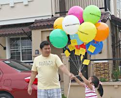 fathers day balloons the s day was discovered soon marryl crafts