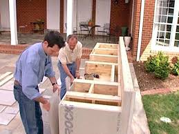 how to build a outdoor kitchen island how to build an outdoor kitchen with wood frame built in grill