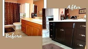 how to restain kitchen cabinets restaining kitchen cabinets bloomingcactus me