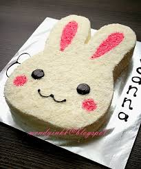 rabbit cake table for 2 or more bunny cake kiddy cakes 1