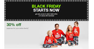 target black friday starts target black friday sale save 30 off pajamas for the entire