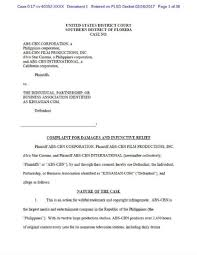 abscbnpr com u2013 abs cbn corp files lawsuit for over 8 million in