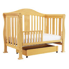 Toddler Bed With Rail Davinci Parker 4 In 1 Convertible Crib In Natural K5101n Free Shipping