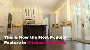 are white or kitchen cabinets more popular this is now the most popular feature in kitchen remodels