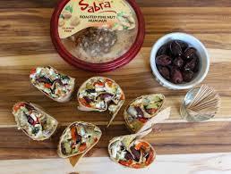 Hummus Kitchen Mediterranean Hummus Wraps