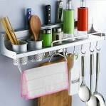 Image result for steel utensil hanging rack B00UUSC7YY