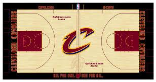 cavshistory cavs get new home court design u2026 don u0027t use it