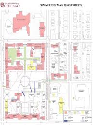 Uchicago Map Summer Construction Projects To Enhance Campus Walkways