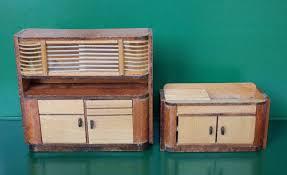 dolls house furniture of ullrich and hoffmann wichtelmarke 1951