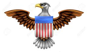 american eagle design with bald eagle of the united states with