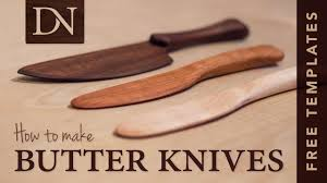 how to make butter knives youtube