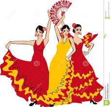 flamenco dancer stock vector image 57704523