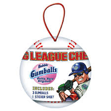 baseball ornament big league chew