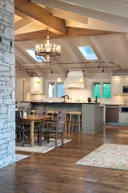 Suspended Track Lighting Suspended Track Lighting Kitchen Eclectic With Dining Hutch