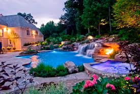 exterior design alluring backyard garden with pool design