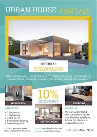 real estate flyer examples design custom real estate flyers with free templates online fotojet