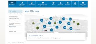 Nike Map 5 Map Of Our Year Sustainability Report 2013 14 Ford Motor Company Png