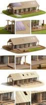 Frame House Canadian Wood Frame House Construction On Behance