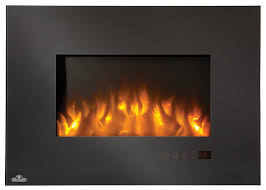 napoleon efl32h linear wall mount electric fireplace 32 inch