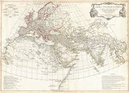 Ancient India Map Worksheet by Anville 1794 Map Of Ancient World Maps Of The Classical World