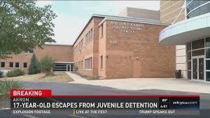 Resume For Juvenile Detention Officer Akron Juvenile Detention Center Escapee Arrested