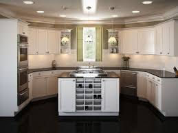 create beautiful one wall kitchen designs with an island